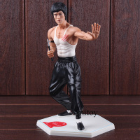Kung Fu Star Kung Fu Bruce Lee PVC Action Figure Collectible Model Toy 26cm 2 Styles