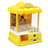 Mini USB Doll Machine Grab Ball Coin Candy Catcher Christmas Party Fun Novelty Gags Practical Jokes Toys For Kids Childern Toy