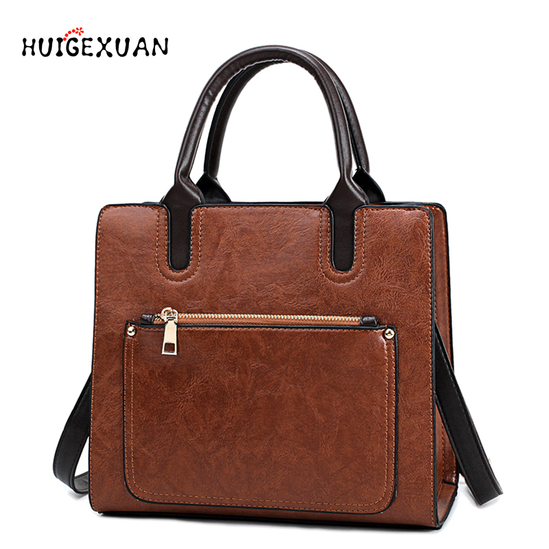 Women's PU Leather Handbags High Quality Lady Party Purse Casual Crossbody Messenger Shoulder Bags Brown Tote bags Crossbody Bag стоимость