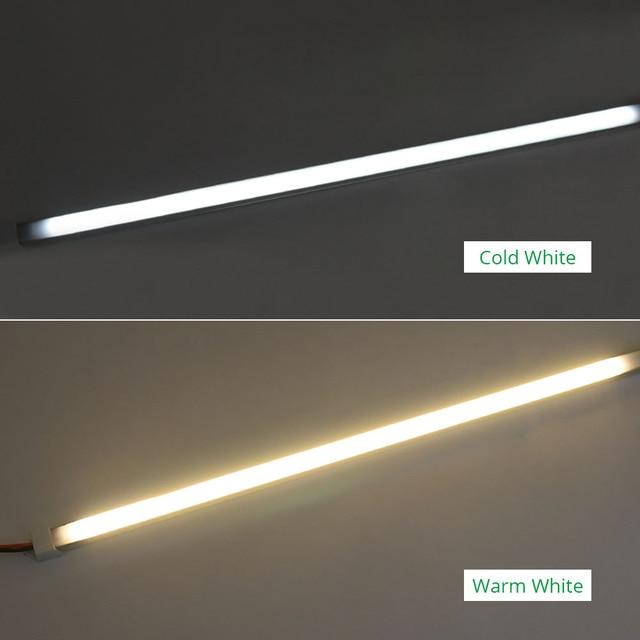 30CM 50CM 220V 230V 240V sous éclairage LED pour placard bande lumière Cuisine placard lampe Cuisine bibliothèque armoire Cocina chambre veilleuses 3
