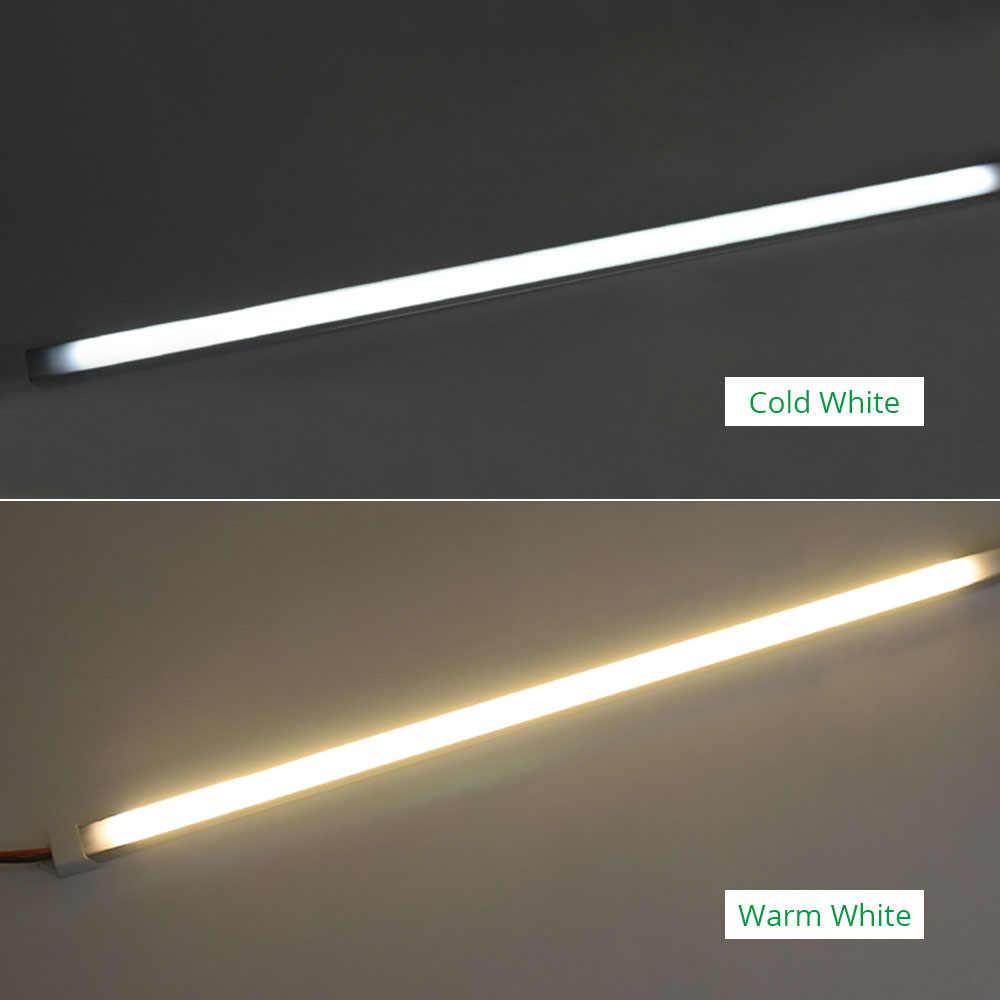 30 см 50 см 220 в 230 в 240 В под шкафом Светодиодная лента для кухни лампа для шкафа кухни для книжного шкафа гардероба Cocina спальни ночные светильники