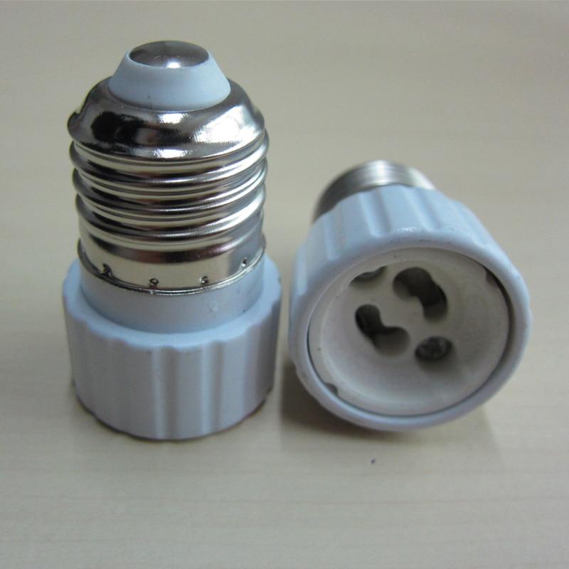 New Light Lamp Bulb Adapter Converter LED E27 To GU10 Socket Holder