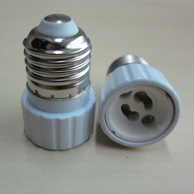 New Light Lamp Bulb Adapter Converter LED E27 To GU10 Socket Holder