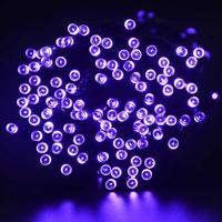 New 200 LED Outdoor Solar Powered String Light Garden Christmas Party Fairy Lamp 22M
