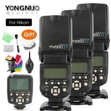 YONGNUO YN560 IV ، YN 560 IV ماستر راديو فلاش Speedlite + YN 560TX المراقب المالي لنيكون D760 D7200 D810 D600 D5000