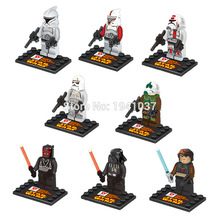 Wholesale D850 Star Wars Minifigures Yoda Han Solo Obi Wan Kenobi Building Blocks Sets Model Classic Toys For Children Bricks