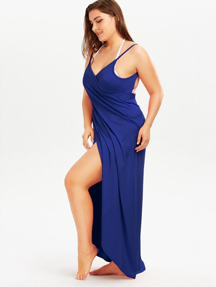 Plus Size Pareo Beach Cover Up Wrap Dress Bikini Swimsuit Bathing Suit Cover Ups Robe De Plage Beach Wear Tunic kaftan Swimwear 41