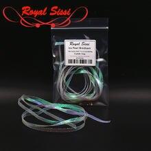 Royal sissi 2 размера ледяной жемчуг задняя часть 5 мм плоская