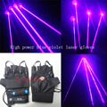 405nm azul violeta laser refere-se a 4 luvas de laser DJ club bar KTV adereços luvas de laser 200 mw