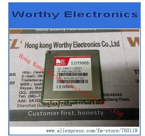 10pcs/lot SIM900D SIM900 GPRS GSM Module Quad-band module / replace SIM340D module(China (Mainland))