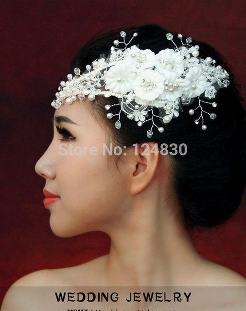 Kurze Haare Die Braut Kopfschmuck Korea Hochzeitskleid Reifen