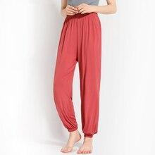 Pajama-Pants Trousers Home-Wear Summer Women's Cool Corgi Ice Modal Wild New-Style Casual
