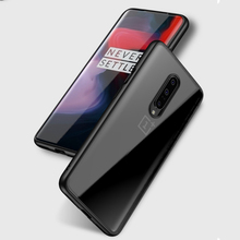 Ultra Thin Clear Soft Silicone Case for OnePlus 7 Pro Silm Transparent Cover Shell for 7 Pro Crystal Full Back Cover Coque Funda