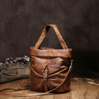 100 Real Genuine Leather OL Style Women Handbag Tote Bag Ladies Shoulder Bags Wholesale Price 2016