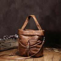 100% Real Genuine Leather OL Style Women Handbag Tote Bag Ladies Shoulder Bags Wholesale price 2016 New HOBO Purse