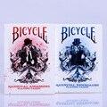 1 unids Asesinos Karnival Bicicleta Cubierta Azul/Rojo Magia Naipes Close Up Trucos Magia de Escenario Profesional mago
