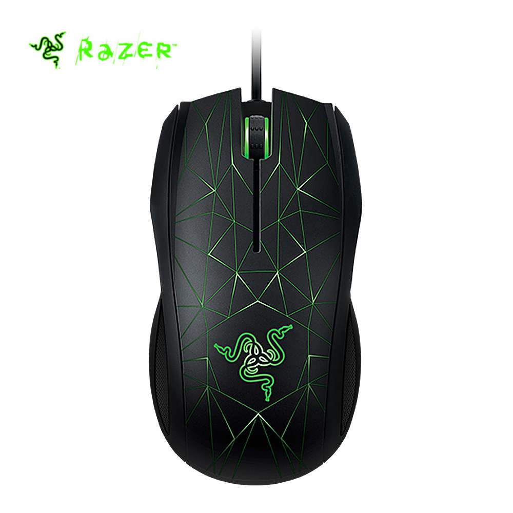 Razer Taipan 3500 Wired Laser Sensor USB Wired Optical Game Mouse Three-colors LED Backl ...