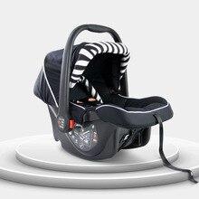 Basket Type Baby Safety Car Seat,  Rear-facing safety carseat for 0-15 Months baby, Newborn Cradle/ Sleeping Basket