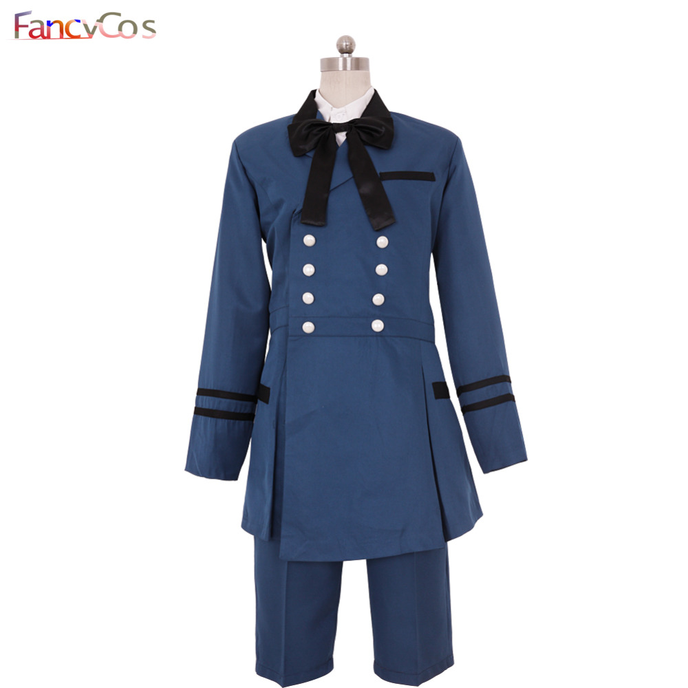 Halloween Black Butler Kuroshitsuji Ciel Phantomhive Uniform Costume Cosplay Anime Japanese High Quality Deluxe