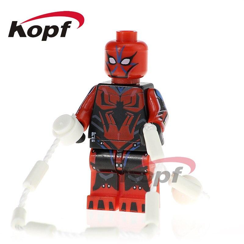 Single Sale Agent Zero Super Heroes Spider-Man Mark 3 G. W. Bridge Bricks Education Building Blocks Children Toys Gift PG341