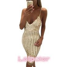 2018 summer Lady Sexy Party Night sequin dress Women V-neck elegant vintage dresses Shinning Gold sequined Flower Lace Dress цены онлайн