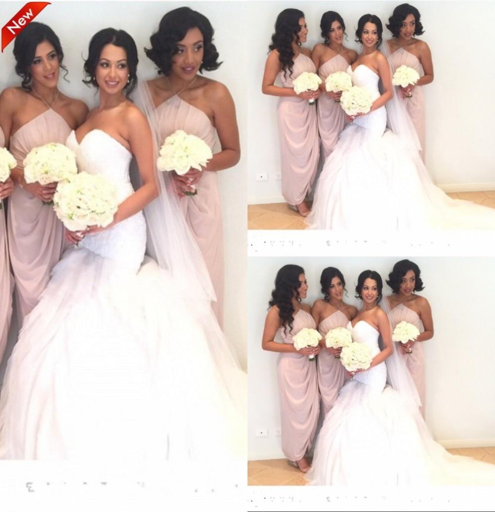 Berühmt Brautjungfer Kleider Pfirsich Fotos - Hochzeit Kleid Stile ...