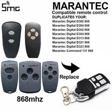 Marantec D302 D304 868 Mhz 차 고문 개폐기 게이트 원격 송신기 Hormann HSM2 868 HSM4 868 mhz 원격 제어