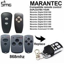 Marantec D302 D304 868 Mhz ouvre porte de Garage émetteur à distance Hormann HSM2 868 HSM4 868 mhz télécommande