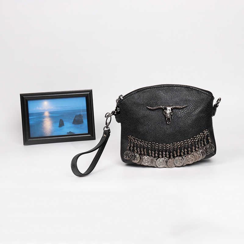 ARPIMALA бахрома Винтаж клатч Для женщин кожа Сумки дизайнер Boho Мешок руки небольшой кисточка штифт Для женщин сумка Роскошные кошельки