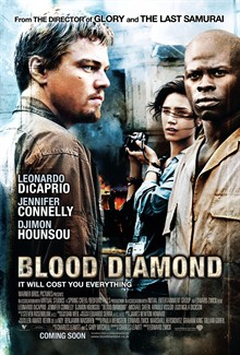 MOVIE Blood Diamond <font><b>Leonardo</b></font> <font><b>DiCaprio</b></font> Silk Poster Wall Decor Room <font><b>Painting</b></font> 24X36Inch image