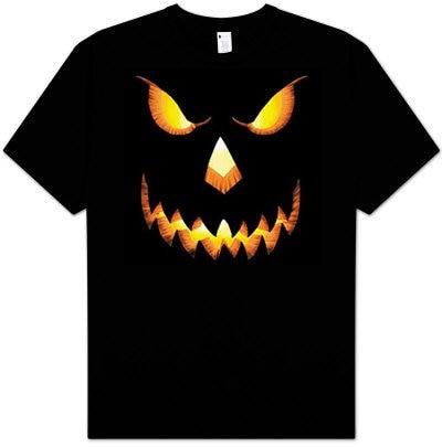 5bba8d0190 2019 Print T-Shirt Harajuku Short Sleeve Men Top PUMPKIN Jack-oLantern Scary  Halloween Costume Adult T-shirt Tee Shirt