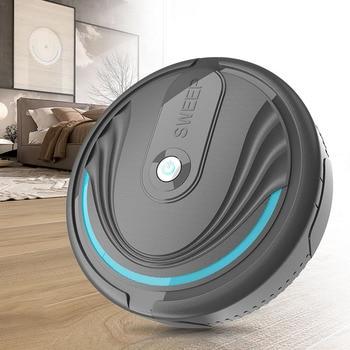 цена на Mini Robot Vacuum Cleaner Ultra-thin  Vacuum Cleaner Automatic Household Robot Cleaner Dust Pet Hair Mop