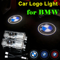 2 x Car Door Light LED Welcome Lights Laser LOGO Lamp for BMW 3 5 6 7 Series GT E60 E90 F10 X5 X3 M3 F02 F10 F15