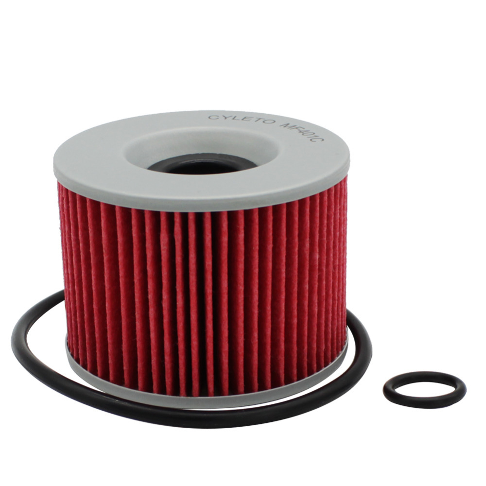 Cyleto Oil Filter for KAWASAKI GPX750R GPX 750 1986-1989 GPZ 1000 1981-1985 1995-1998 GPZ1100 ABS 1997 GPZ400R 400 185-86 1989
