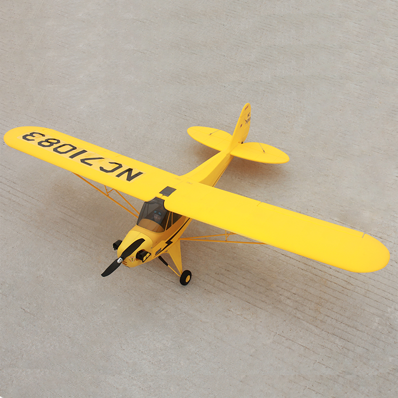 Dynam 1.25M Piper J3 Cub RC Airplane SRTF Model ESC Propeller Motor Battery kyosho airium piper j 3 cub ve29