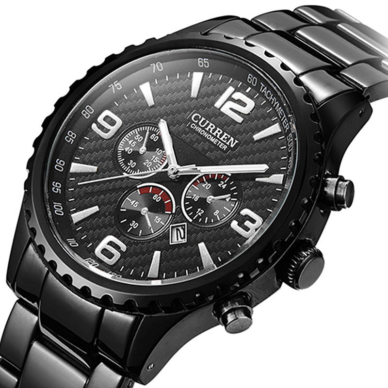 цены Men watch Sports Brand Curren Watches Relogio Masculino Fashion Reloj Hombre Quartz-Watch Male Wristwatches Clock Montre Homme