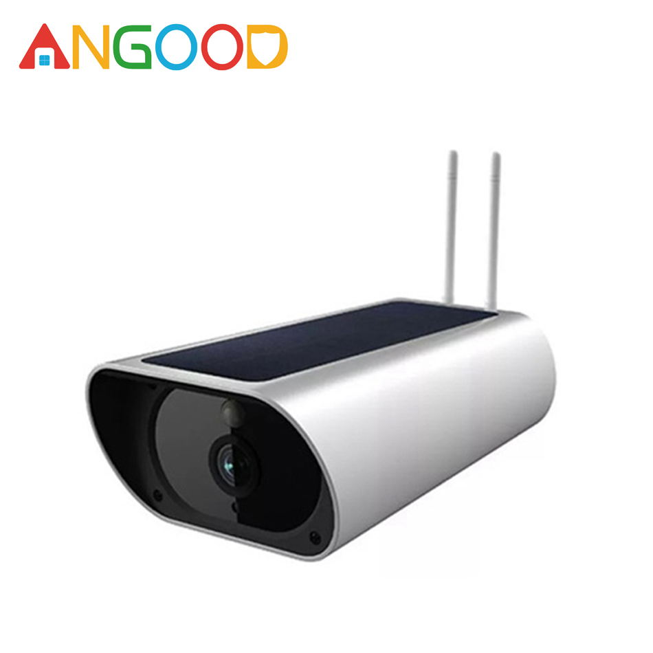 ANGOOD 2MP 1080P HD 4G Wifi Wireless Smart IP Camera Solar Waterproof Night Vision Outdoor Security