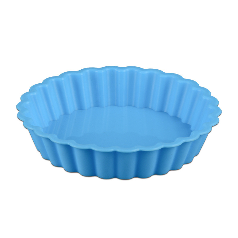 1PC Eco-friendly Silicone Bakeware in Round Shape Available in Random Colors for Baking Cup Cakes in Microwave Oven 2
