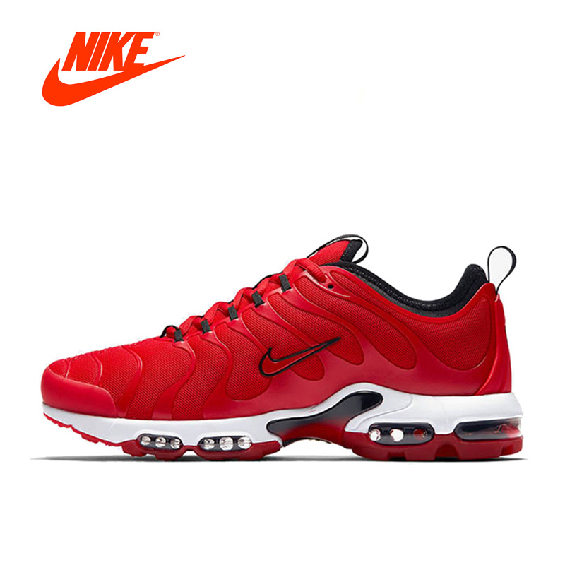 huge selection of 57ca2 e2782 ... spain original new official red nike air max plus tn ultra 3m mens  breathable running shoes