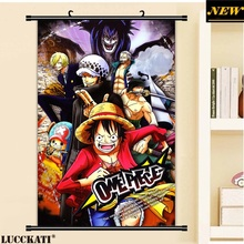 40X60CM One Piece Oda Eiichirou Monkey D Luffy male nami cameltoe cartoon anime wall picture cloth scroll poster canvas painting