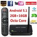 Andoer Z4 Android 5.1 TV Box 2G / 16G WiFi & LAN UHD 4K *2K RK3368 Octa-Core 64 Bits Mini PC Kodi Smart Media Player Set top box