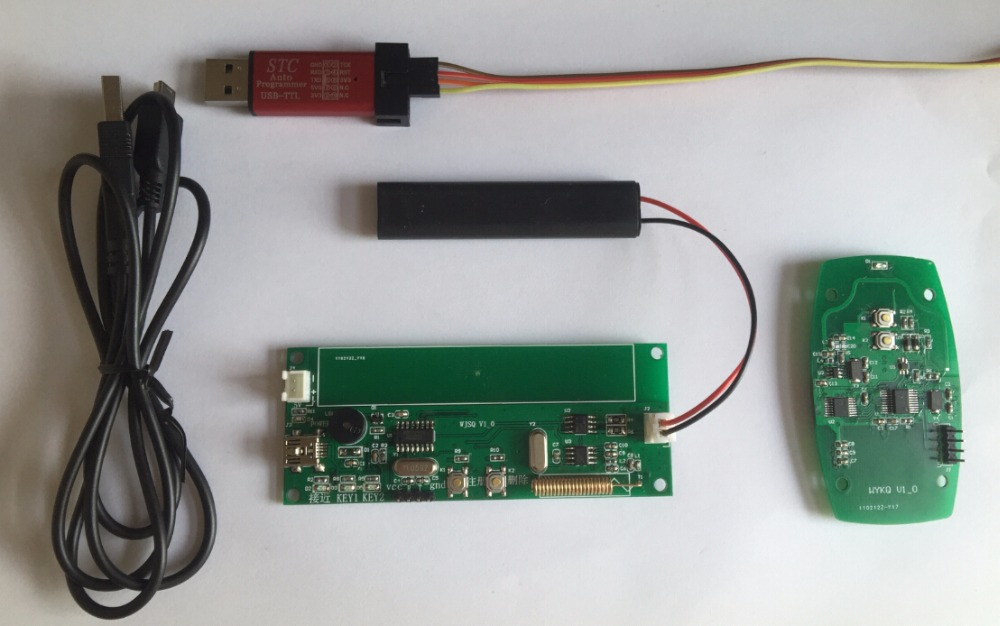 PKE Development Board, Car Keyless System, AS3933 Development Board, Smart Key Development Board
