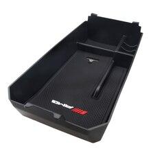 ABS автомобильный черный консоли Подлокотник Контейнер Box Дело центральный лоток для хранения W205 C180 GLC авто аксессуары