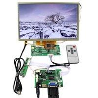 HDMI VGA 2AV LCD denetleyici kurulu + 10.2 inç AT102TN03 800x480 LCD çoklu dokunmatik Panel|Yedek Parçalar ve Aksesuarlar|Tüketici Elektroniği -