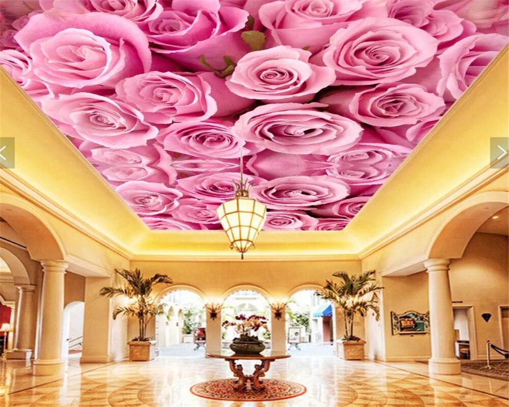 выход сделать натяжные потолки с розами фото день торжества