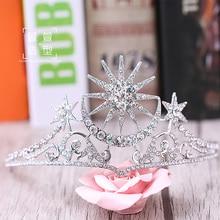цена на The Baroque QUEEN CROWN Rhinestone Hair ornaments princess bride wedding wedding headdress of European luxury accessories