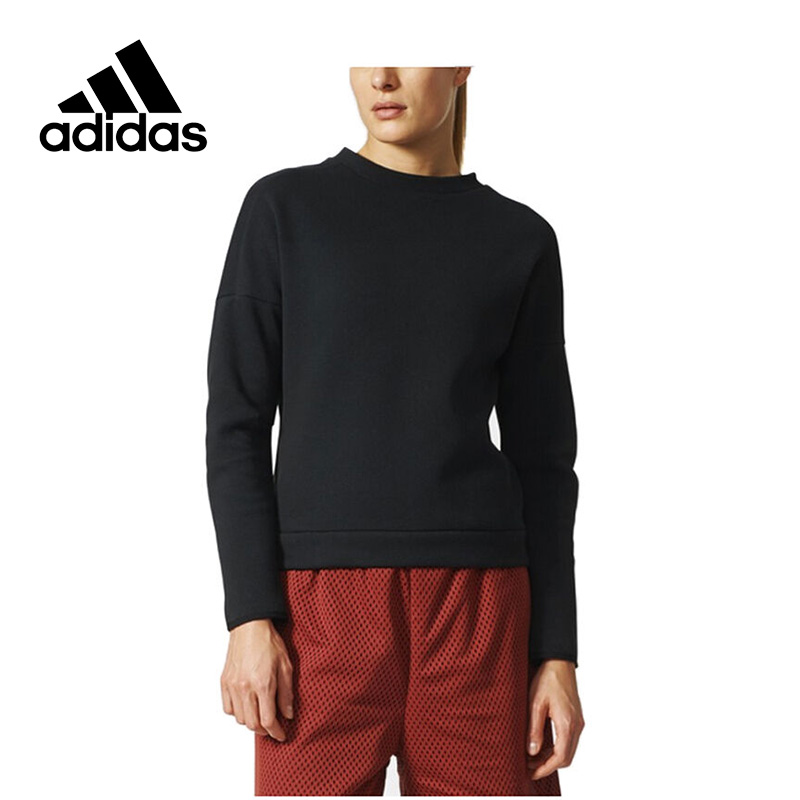 Adidas New Arrival 2017 Original ZNE CREWSWEAT Women's Pullover Jerseys Sportswear S99265 original adidas men s knitted pullover ab4373 ab4374 jerseys sportswear free shipping