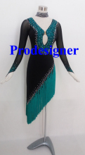 Latin Dance dress  Latin  Costume Latin ballroom dancing dress Prodesigner