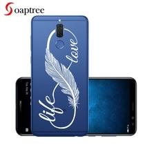 Silicon Cases For Huawei Mate 10 Lite Case Transparent Soft TPU Cover For Huawei Nova 2i G10 Honor 9i 2017 Maimang 6 Coque Shell goowiiz черный maimang 6 mate 10 lite honor 9i nova 2i