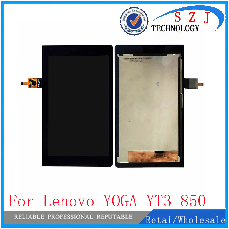 New 8 inch Tablet PC protection case For Lenovo YOGA YT3-850M YT3-850F YT3-850 LCD Display With Touch Screen Digitizer Assembly srjtek 8 for lenovo yoga yt3 850 yt3 850m yt3 850f lcd display with touch screen digitizer glass panel sensor assembly parts